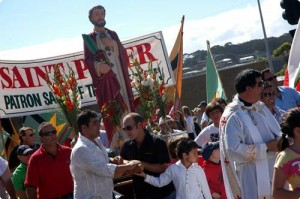 St Peter leading parade