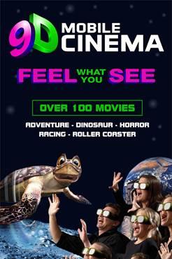 9D Cinema experience