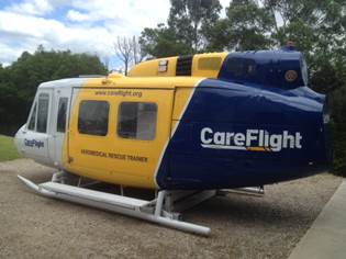 CareFlight Aeromedical Rescue Trainer