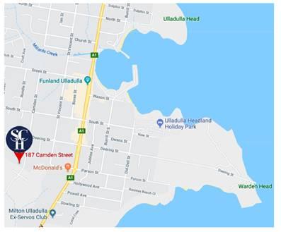 South Coast Hospitality Camden Street Ulladulla