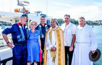 Fr Michael Dyer Blessing of the Fleet